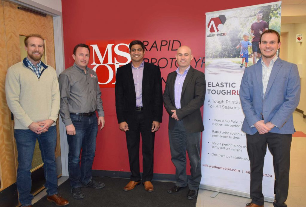 Adaptive3D Partners with MSOE Rapid Prototyping Consortium to Deliver ETR 90 to Midwest Manufacturing Pioneers